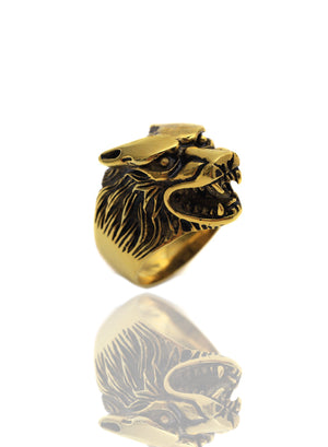 Necklace - Wolf Pack Ring