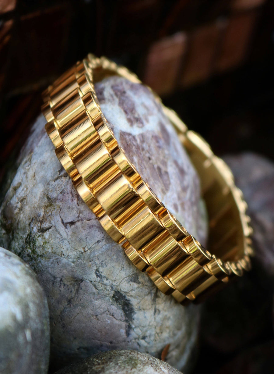 Presidential Band X 18k Gold