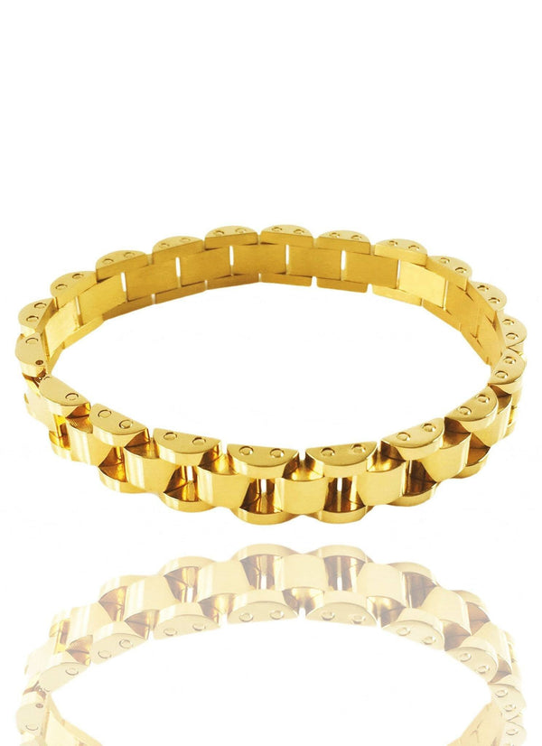 Vice Band X 18k Gold