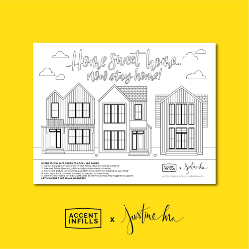 #NowStayHome Colouring Instant Download
