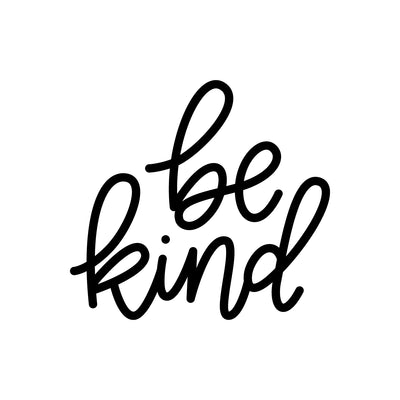 Be Kind DECAL