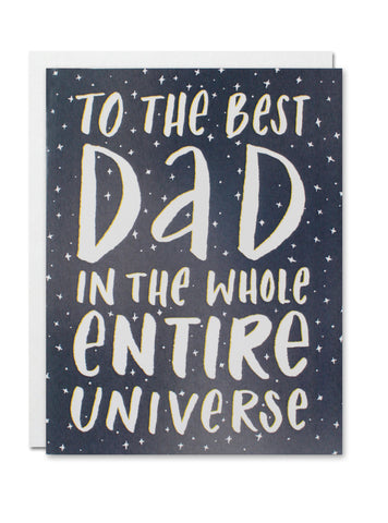 To the Best Dad CARD