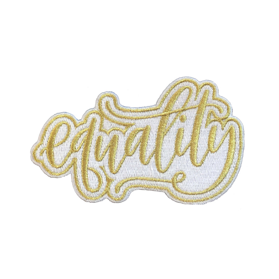 Equality Iron-On Patch