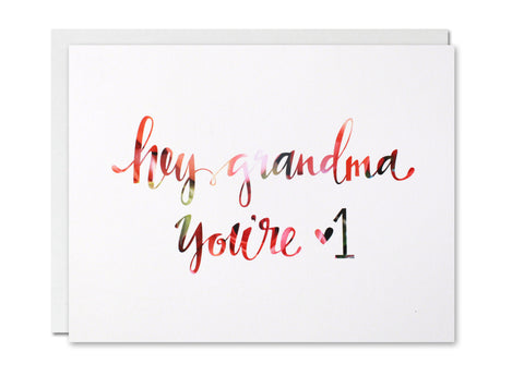 Hey Grandma CARD