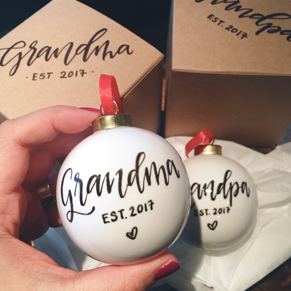 Custom Ceramic Holiday Ornament