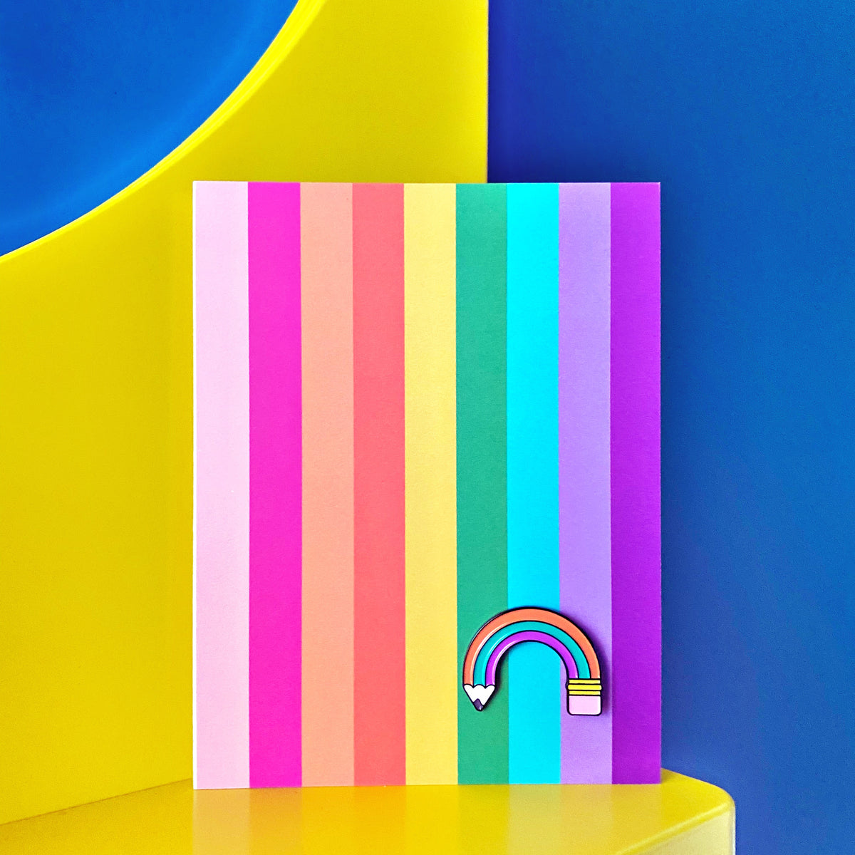 Rainbow PIN CARD