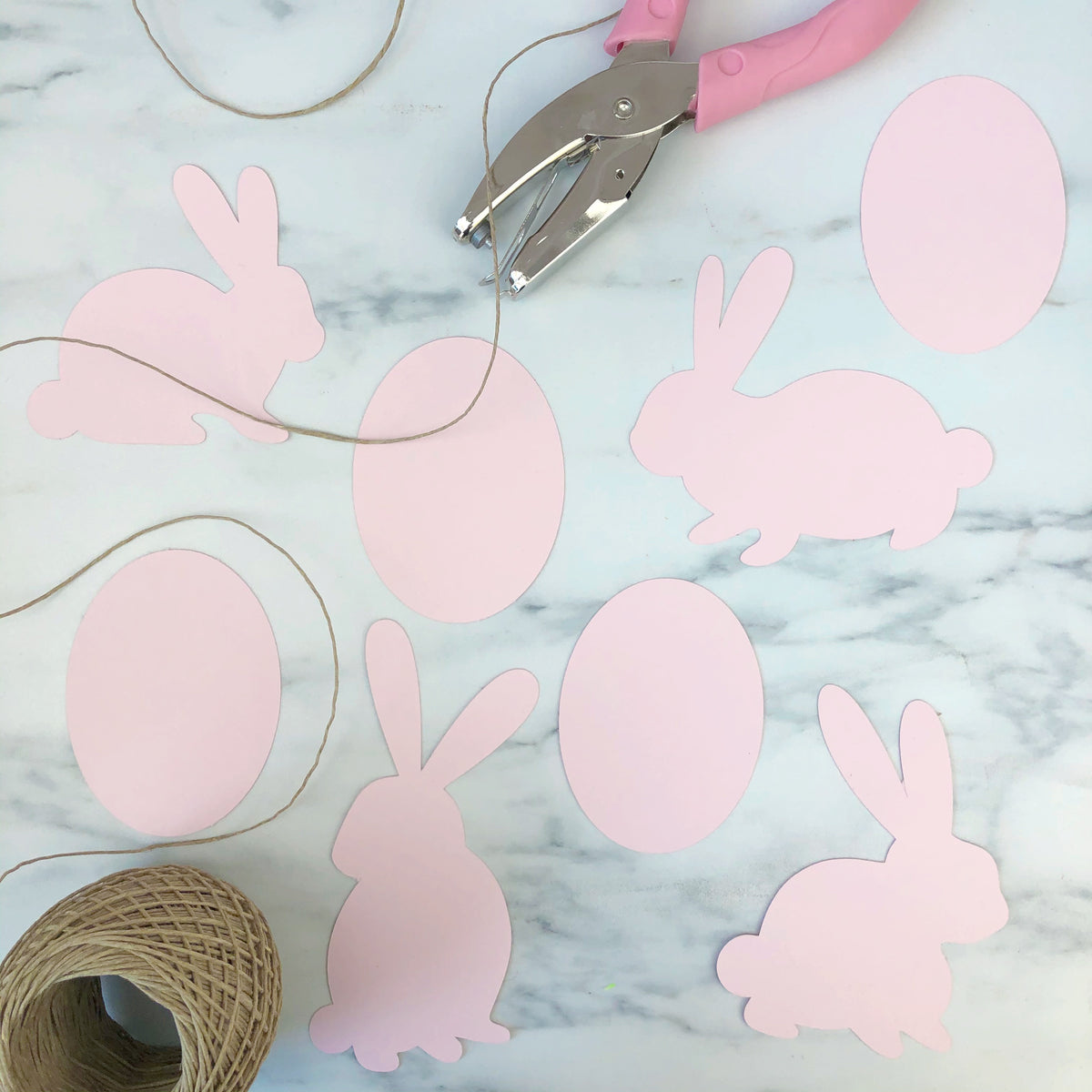 Bunnies DXF Cut File Instant Download