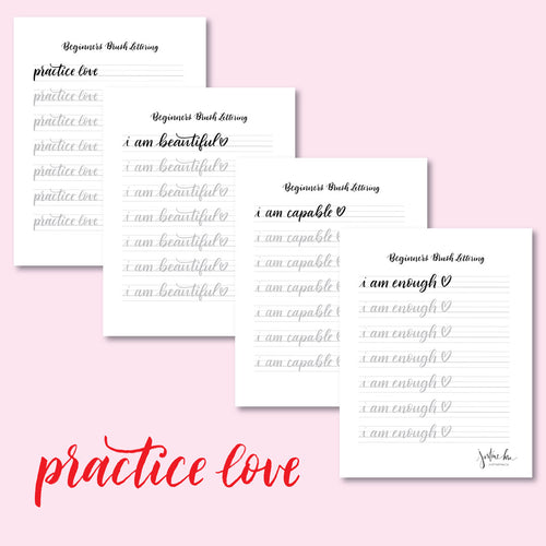 Practice Love Brush Pen Bundle