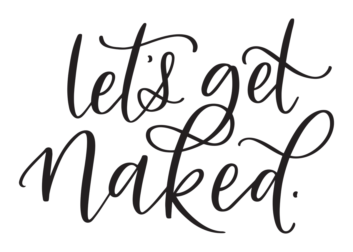 Let's Get Naked DECAL