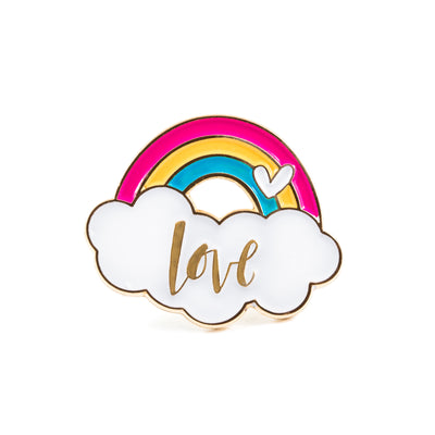 Rainbow Love Pins