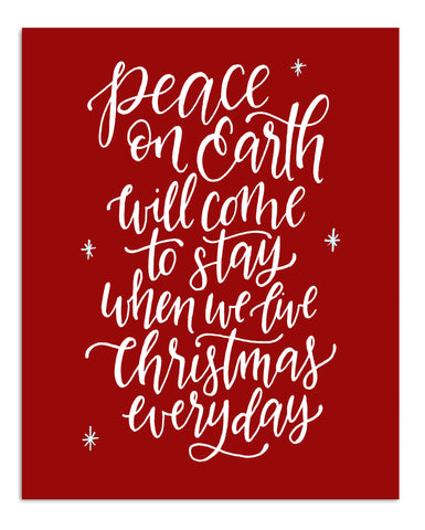 Peace On Earth PRINT