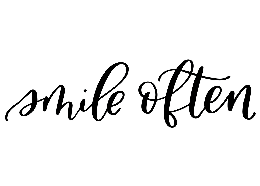 Smile Often DECAL