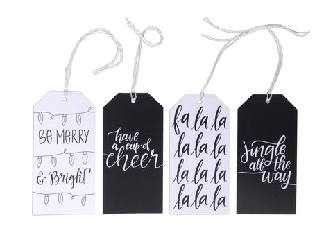 Assorted Holiday Tags