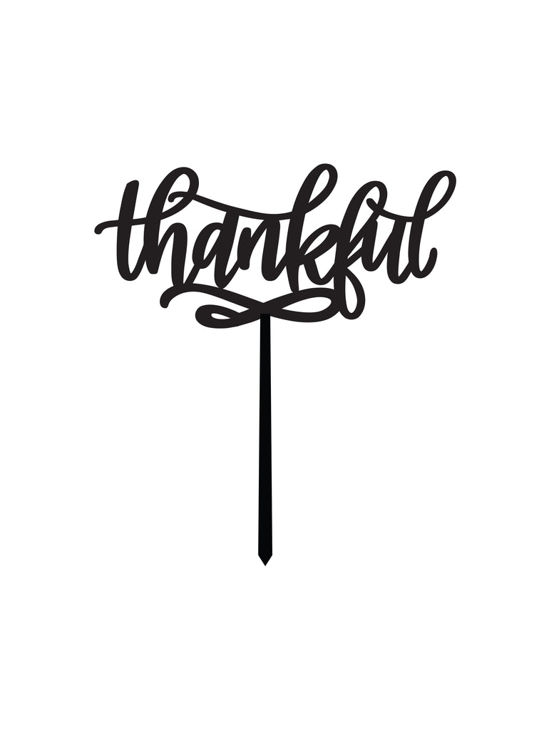 Thankful CAKE TOPPER