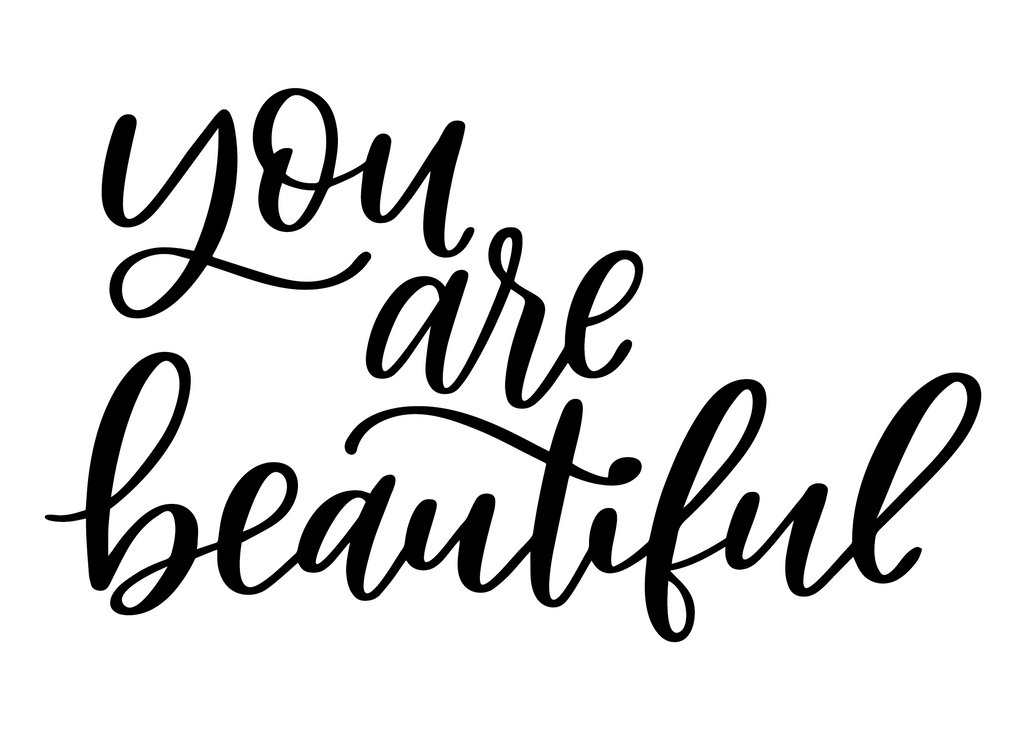 You Are Beautiful DECAL