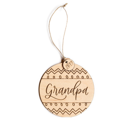 Grandpa ORNAMENT