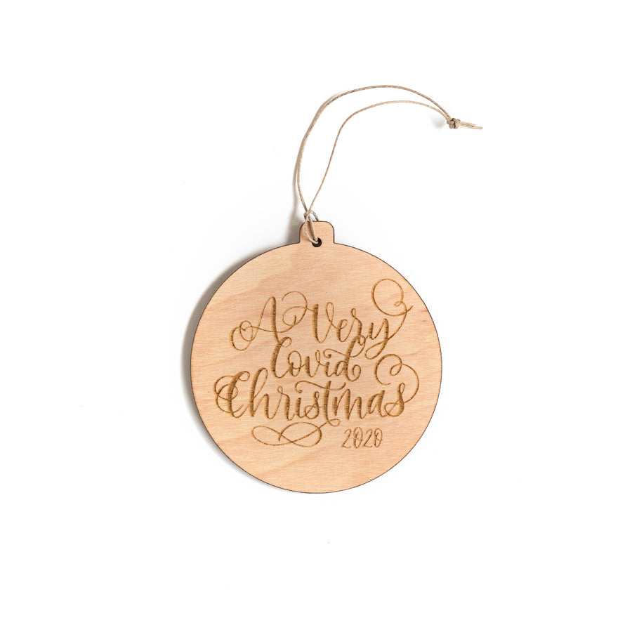Covid Christmas ORNAMENT