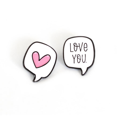 Speech Bubble Pins