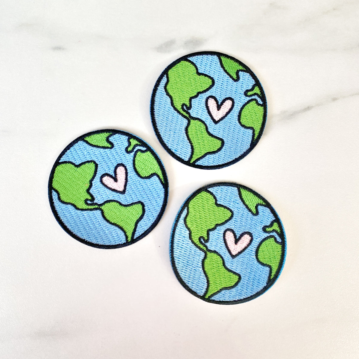 Earth Iron-On Patch