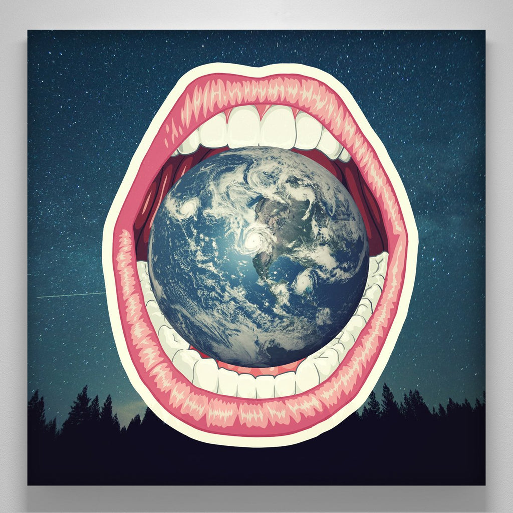 """Earth Between The Teeth"""