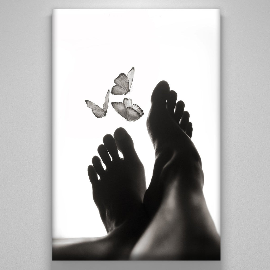 """Butterflies Between My Toes"""