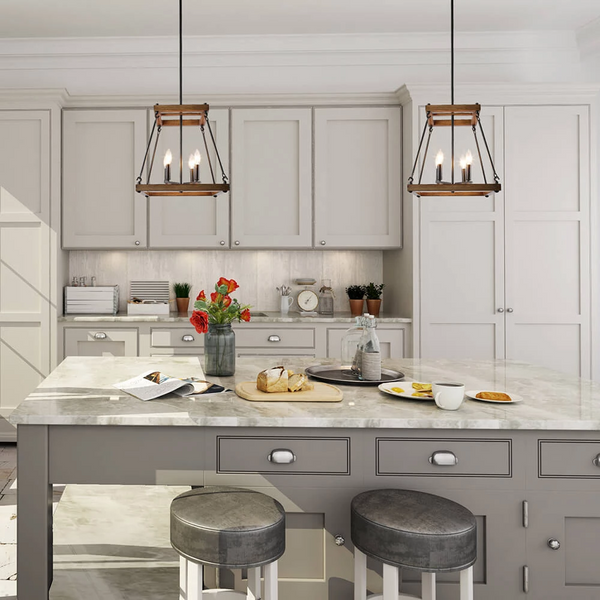 Revamp your Kitchen with the Island lighting design ideas