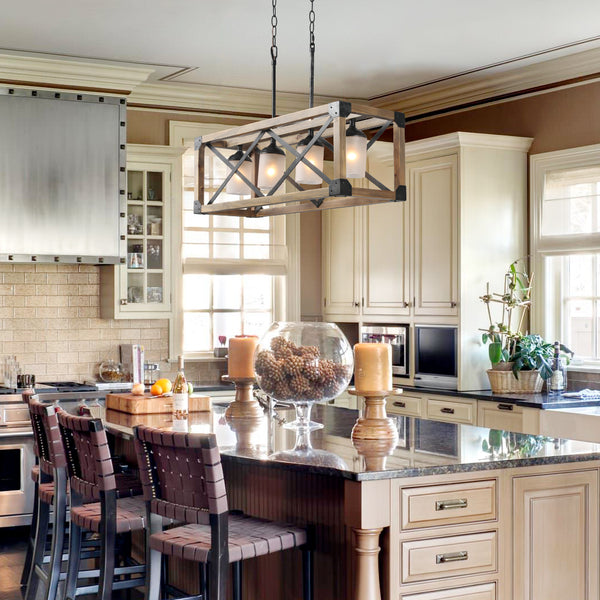 How to Choose the Perfect Kitchen Island Lighting – LNC HOME