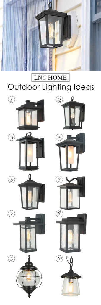 Outdoor lanterns lighting