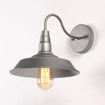 LNC HOME Industrial Silver Wall Sconces Bathroom Lighting