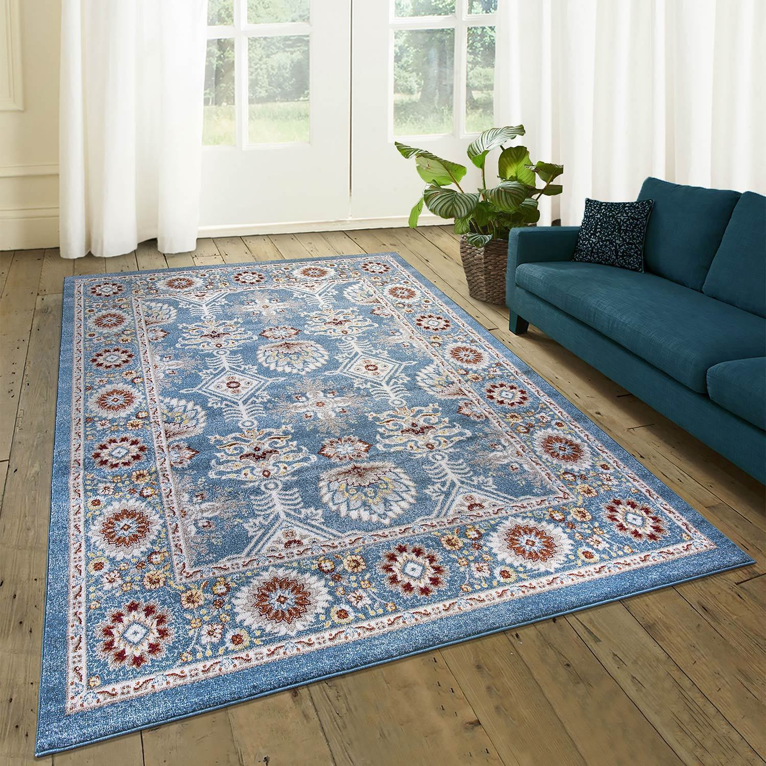 Fishbone Area Rug Pic
