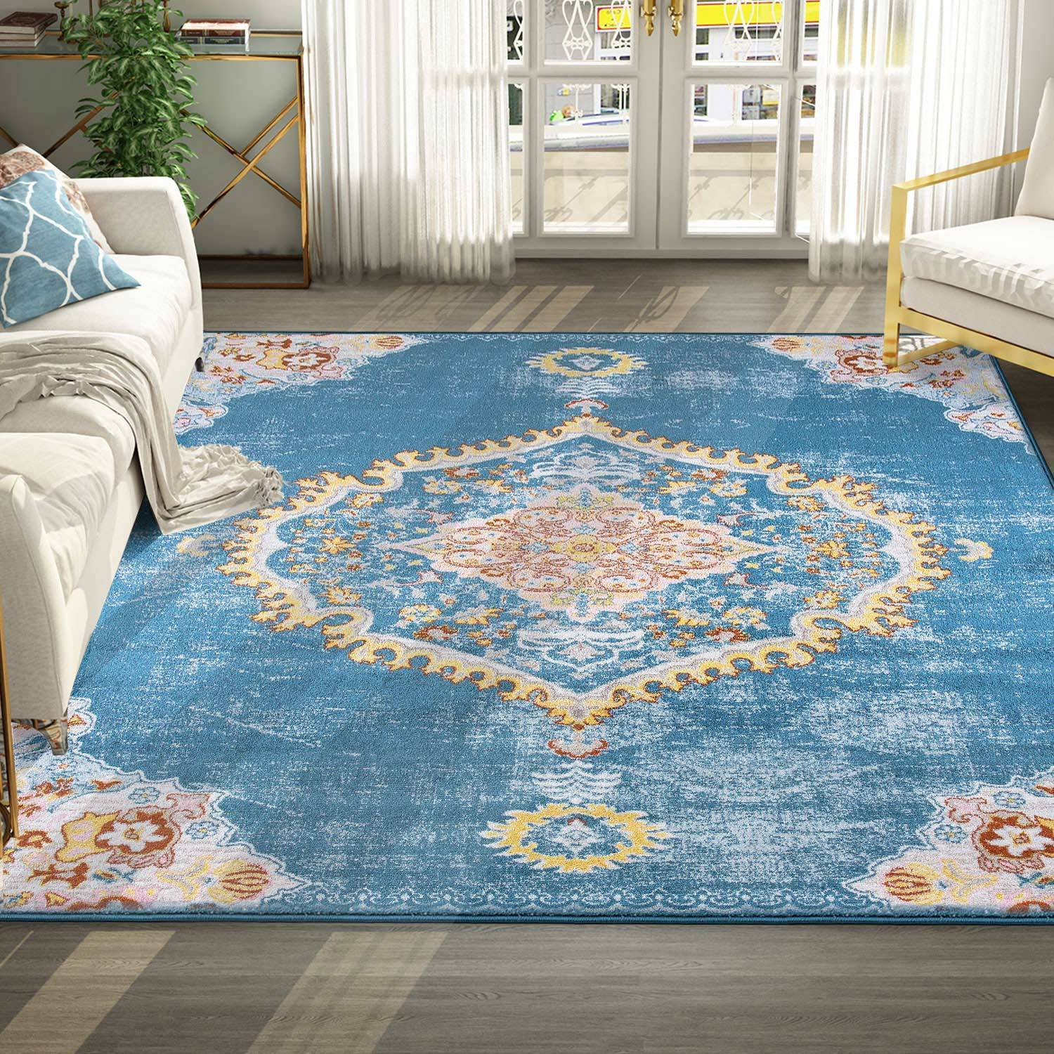 Lotus Medallion Rug Pic