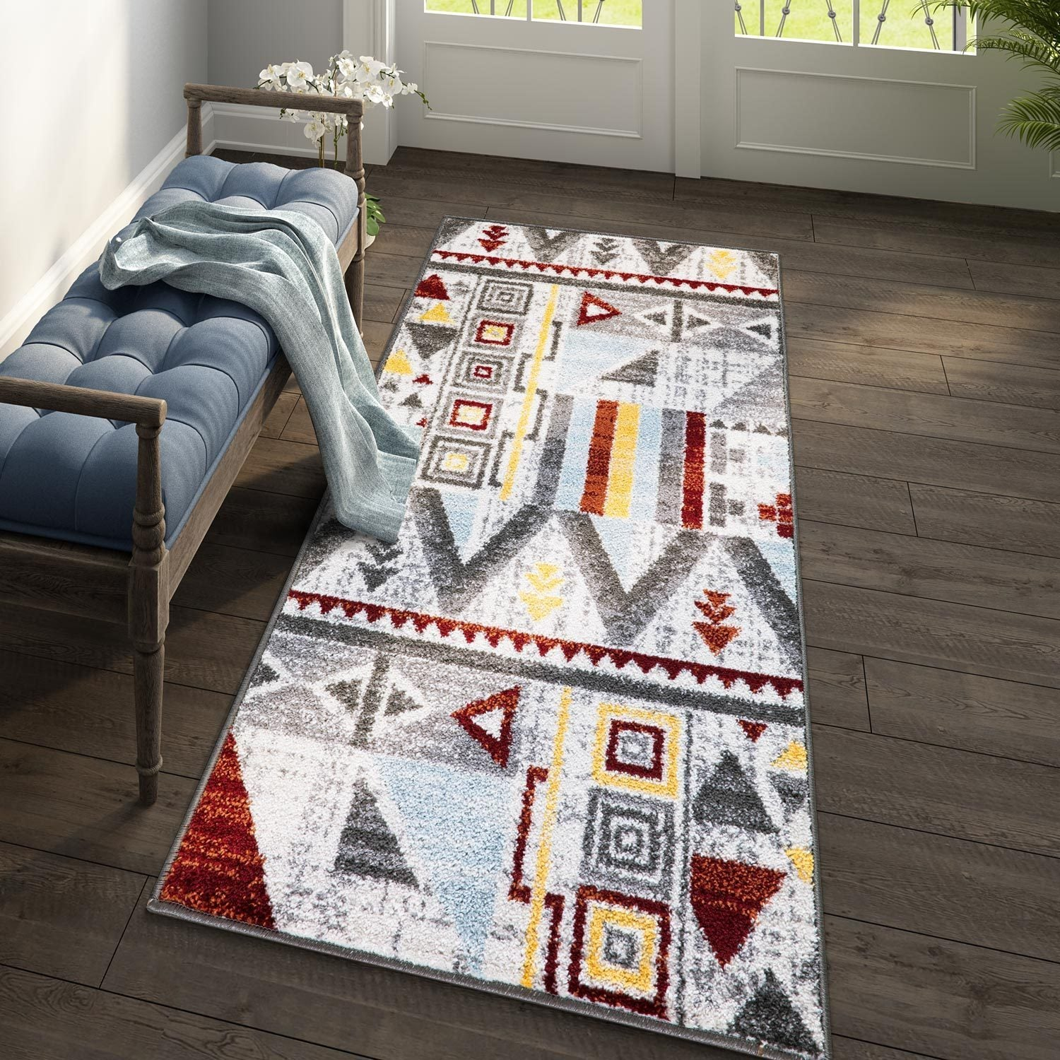 Geometric Tribal Rug Pic