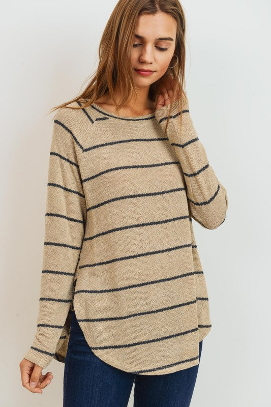 Miley Sweater -- Taupe