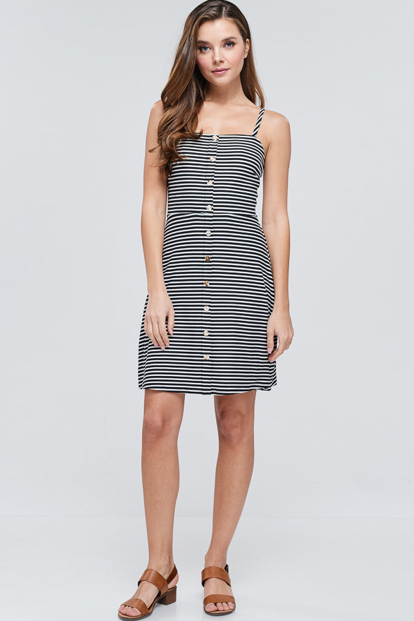 Bayberry Dress -- Black