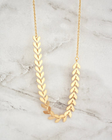 Kinsley Necklace -- Gold