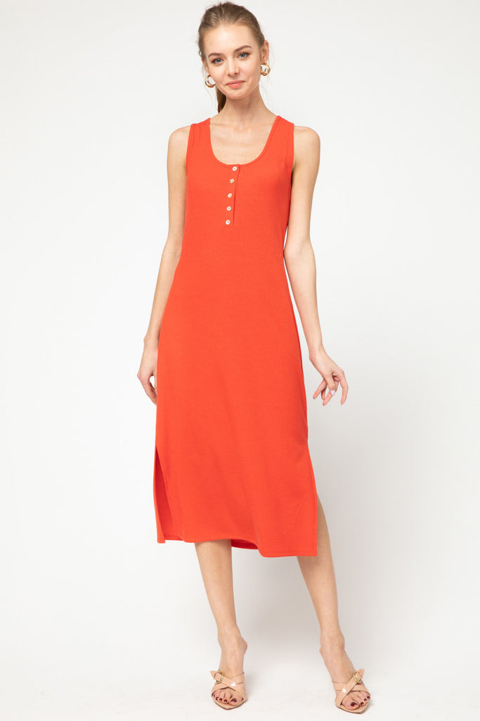 Gracey Dress -- Red