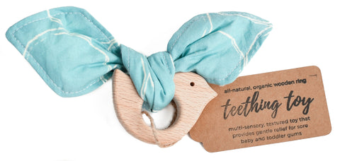 Teething Toy -- Blue Bird