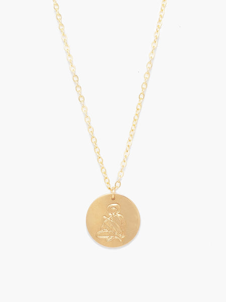 She's Worth More Empower Portrait Heirloom Necklace