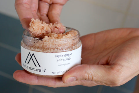 Himalayan Salt Scrub -- Evening  Blend