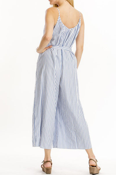 Edda Jumpsuit -- Blue