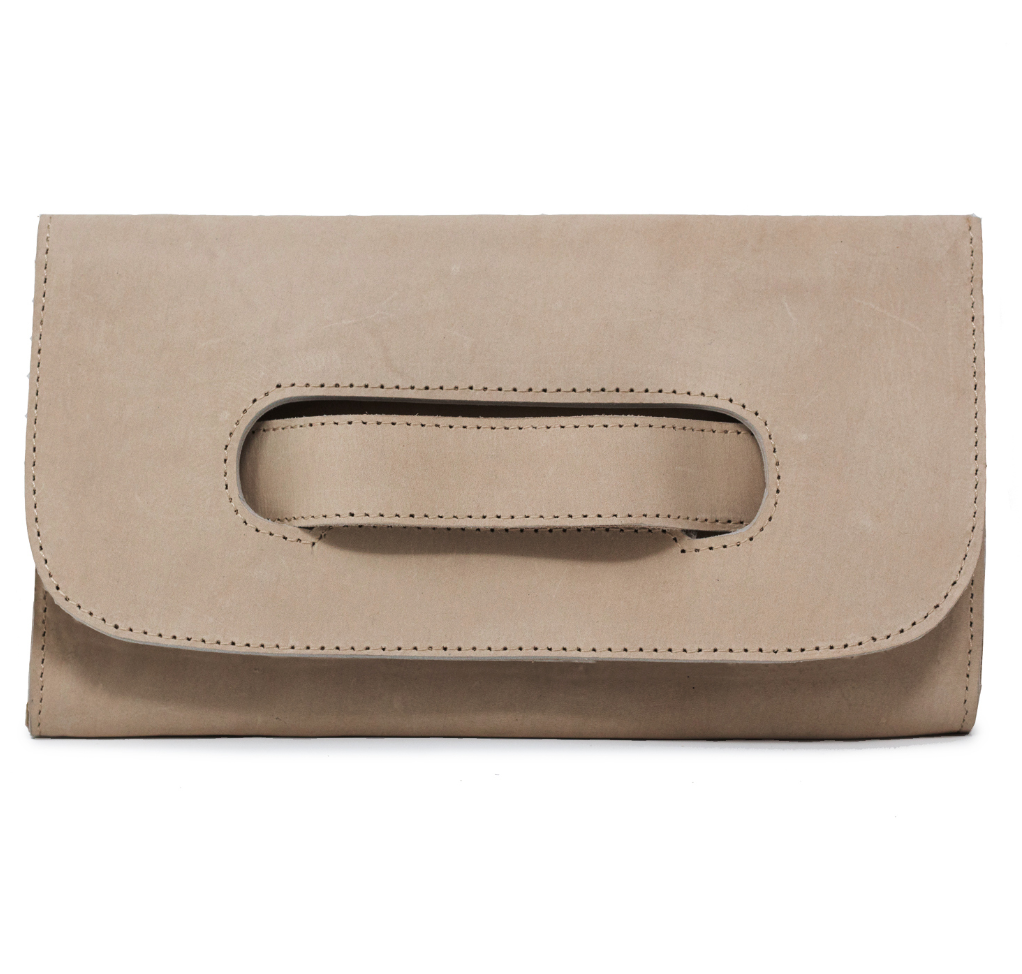 Mare Handle Clutch -- Fog