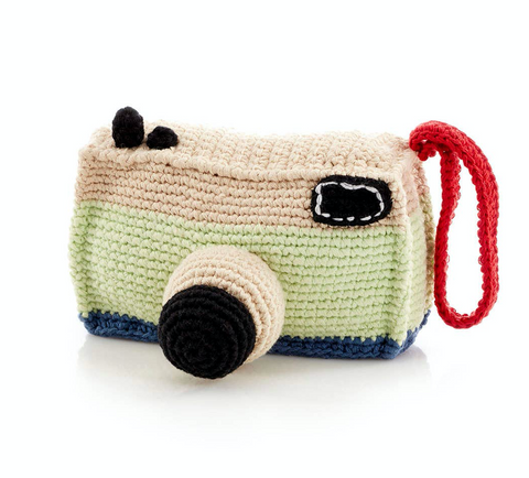 Camera Rattle Baby Toy
