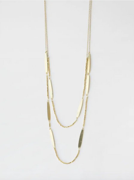 Amelie Necklace -- Gold