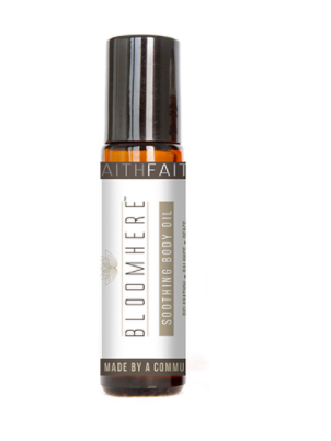 Energizing Body Oil -- Faith