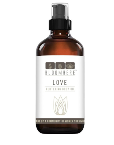 Large Energizing Body Oil -- Love