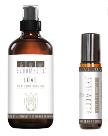 Energizing Body Oil Duo -- Love
