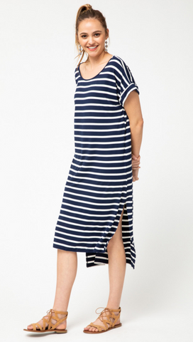 Natalie Dress -- Navy
