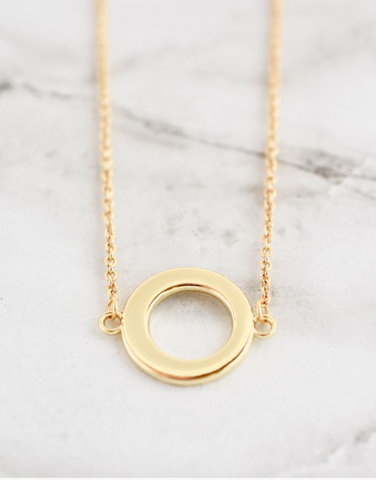 Marley Necklace -- Open Circle