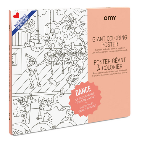 Coloring Poster -- Dance