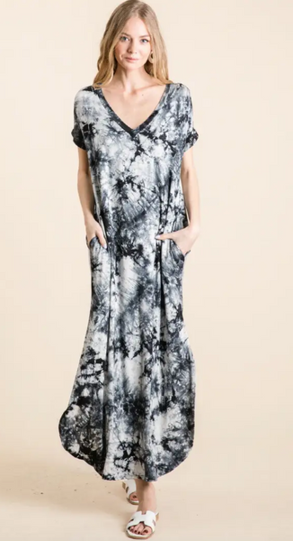 Summer Breeze Dress -- Black